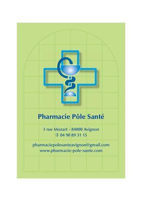 PHARMACIE POLE SANTE - 27.03.18