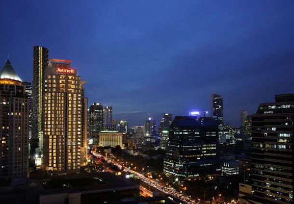 Sathorn Vista, Bangkok - Marriott Executive Apartments - 08.01.13