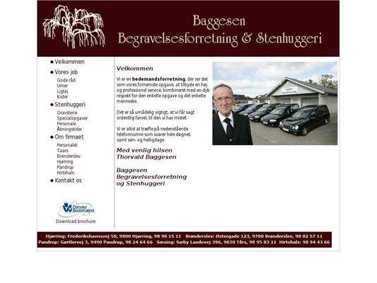 Baggesen Begravelsesforretning & Stenhuggeri - 21.11.13