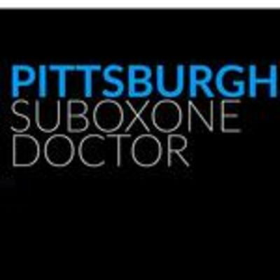 Pittsburgh Suboxone Doctor - 13.07.18