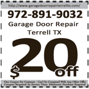 Garage Door Repair Terrell TX - 12.08.18