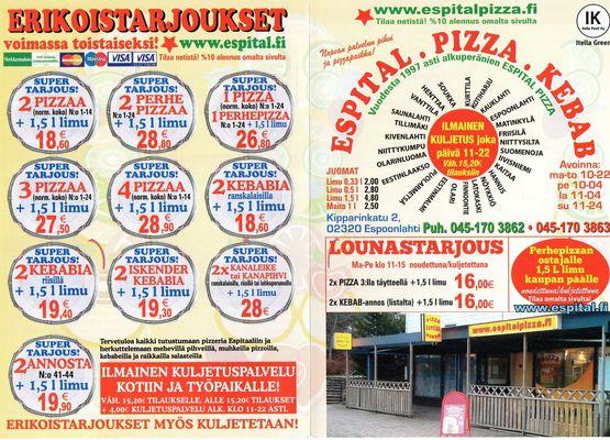 Ravintola Espital Pizzeria - 22.05.15