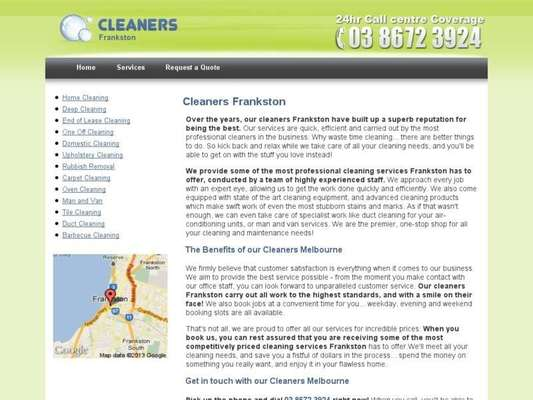 Cleaners Frankston - 12.03.13