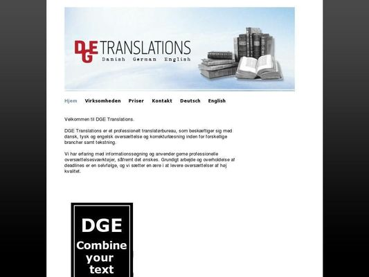 DGE Translations (Malene Tvermoes Lindholm) - 23.11.13