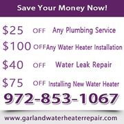 Garland Water Heater Repair - 06.02.19