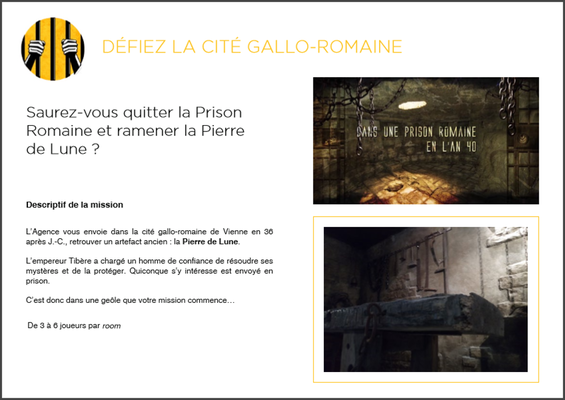 Escape Game Grenoble Prizoners - 09.06.17