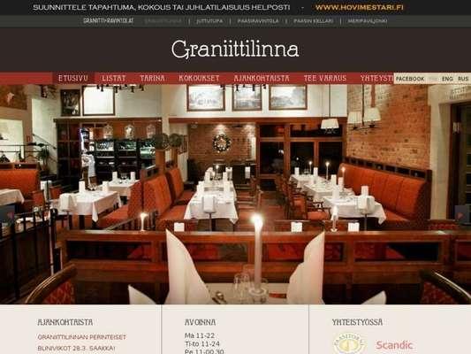 Ravintola Graniittilinna - 07.03.13