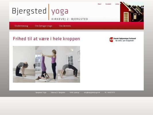 Bjergsted Yoga - 23.11.13