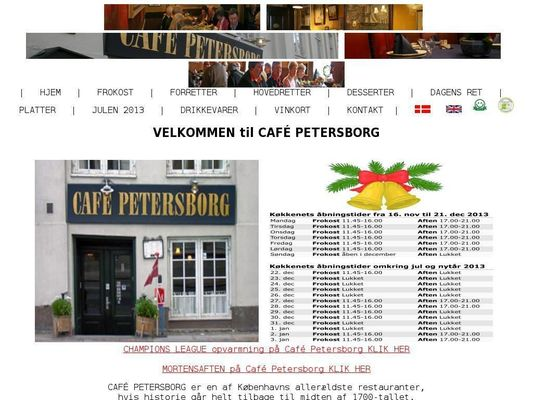 Cafe Petersborg - 22.11.13