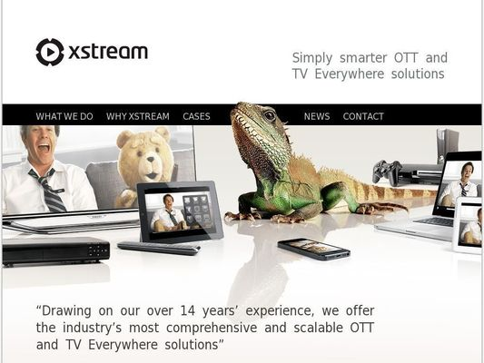 Xstream Webcasting Solutions ApS - 24.11.13