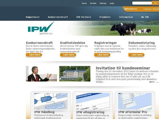 IPW Systems A/S - 23.11.13