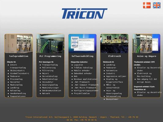 Tricon Techsoft A/S - 24.11.13