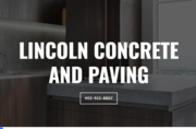 Lincoln Concrete and Paving - 12.03.20
