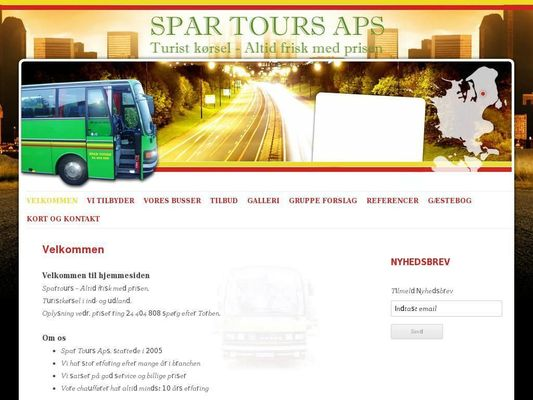 Spar Tours ApS - 23.11.13