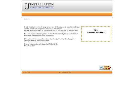 Jj Installation - 21.11.13