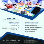 Jims Tax - Jim's Bookkeeping - Glen Waverley - 25.10.17