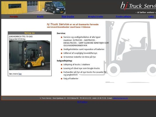 HJ Truck Service ApS - 21.11.13