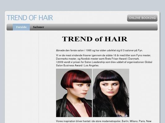 Trend of Hair - 23.11.13