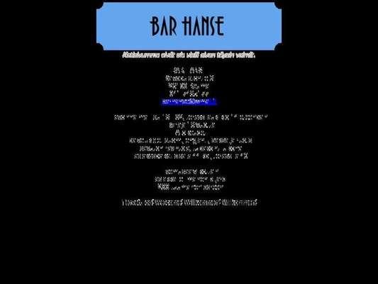 Bar Hanse - 11.03.13