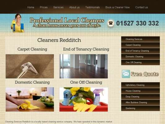 Cleaners Redditch - 14.03.13