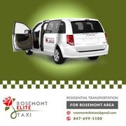 Rosemont Elite Taxi - 24 Hour Taxi Service Near Me - 12.10.19