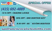 Certified Locksmith in San Francisco