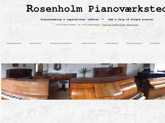 Rosenholm Pianoværksted - 24.11.13