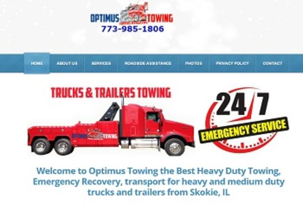 Optimus Towing INC - 20.10.15