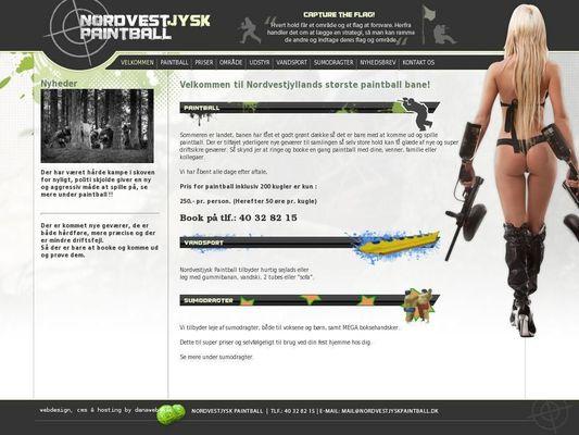 Nordvestjysk Paintball - 21.11.13
