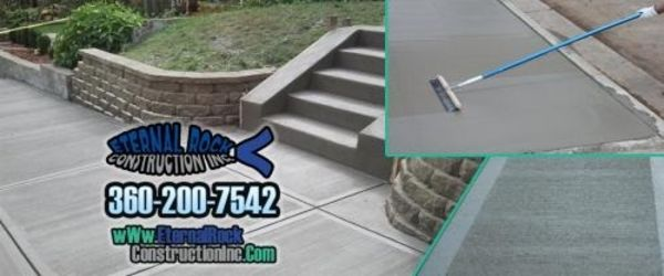 Eternal Rock - Sidewalk Driveway Patio Retaining Wall Concrete Repair - 16.02.18