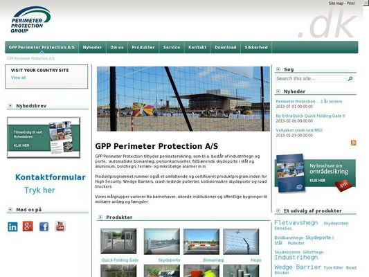 GPP Perimeter Protection A/S - 21.11.13